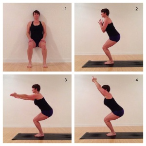 utkatasana power pose