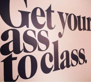 Ass to class