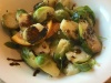 Grilled Brussels Sprouts with Balsamic Drizzle