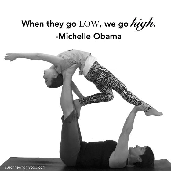 Go High Obama