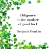 Diligence and Luck