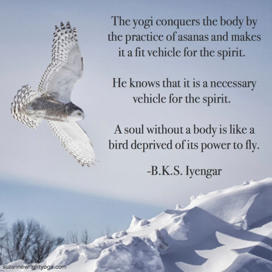Body Soul Iyengar 2-7-18
