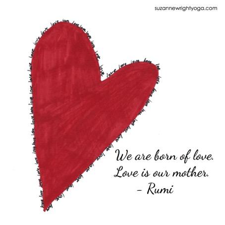 Love Rumi 2-14-18