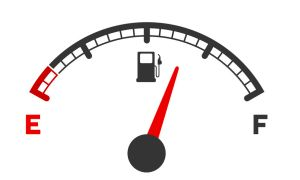 57807544 - illustration of a motor gas gauge