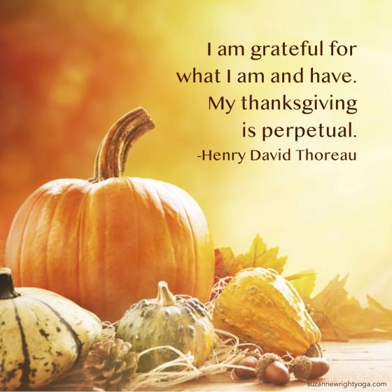Thanksgiving Thoreau