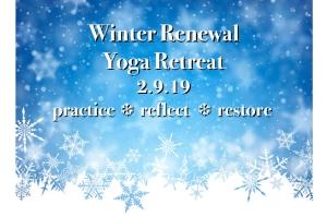 Winter Renewal Retreat 2