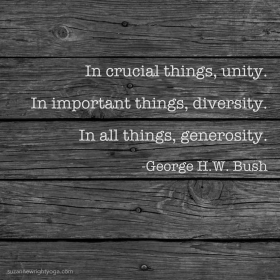 Generosity Bush 12-5-18