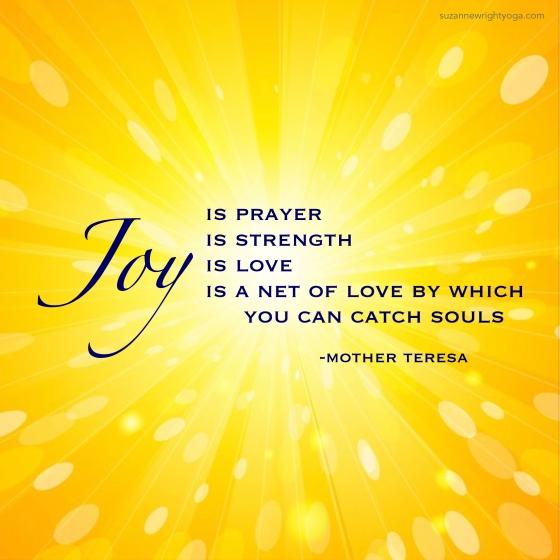 Joy Mother Teresa 1-20-19
