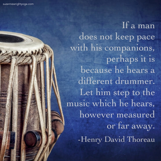 Different Drummer Thoreau 6-26-19
