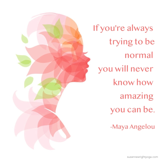 Amazing Normal Angelou