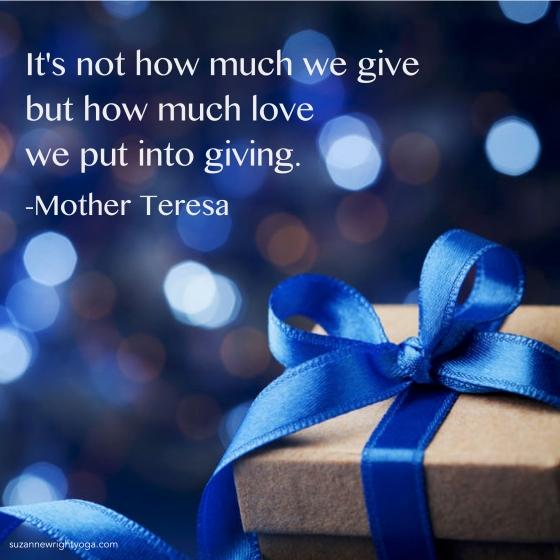 Giving Teresa 12-25-19
