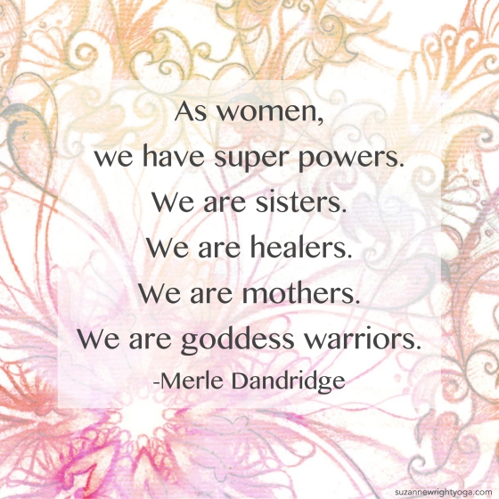 Women Goddess Warriors Dandridge 5-6-20